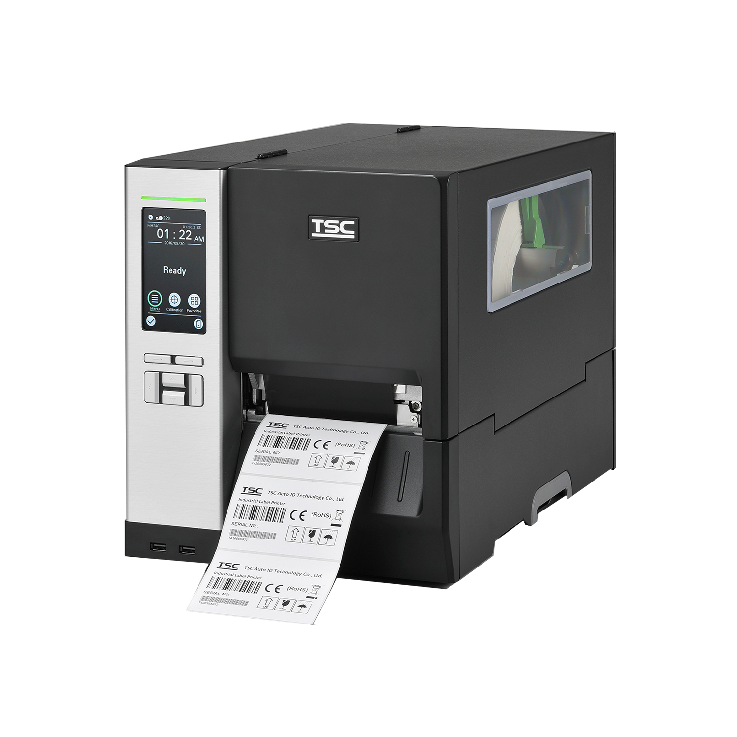 TSC Auto ID MH240 Industrial Barcode Label Printer